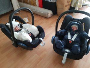 Unsere Auto-Babyschalen